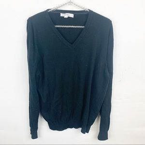 Calvin Klein l Mens V Neck Cotton Sweater